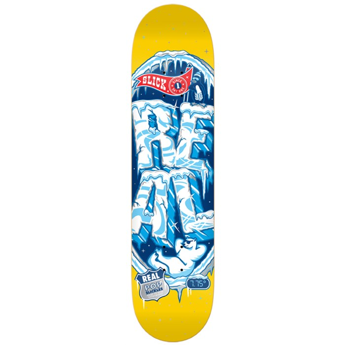 Real - Popslickles II Skateboard Deck