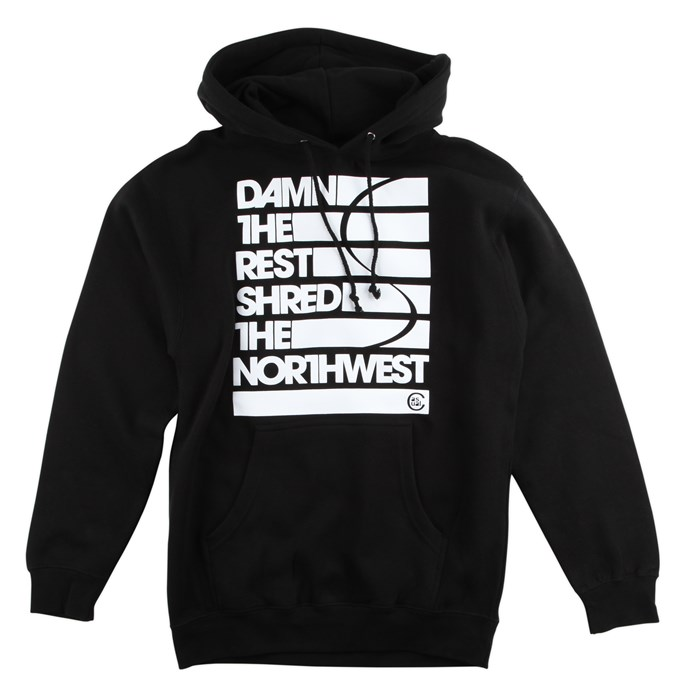 Casual Industrees - Damn The Rest Hoodie
