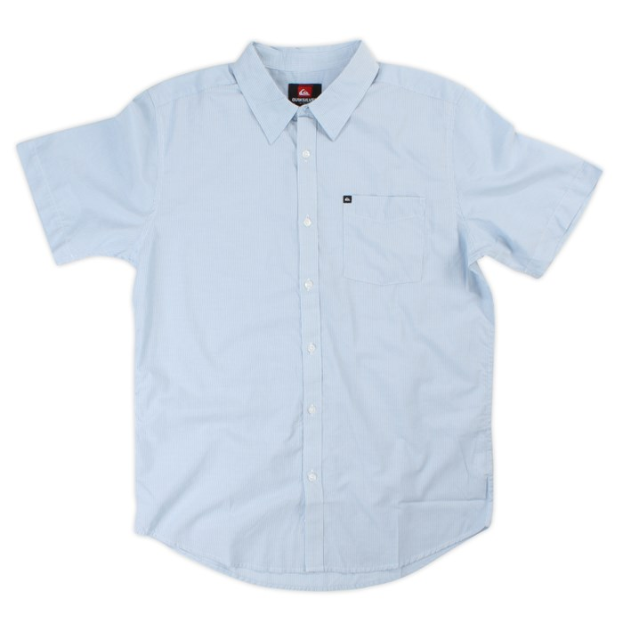Quiksilver - El Stripo Short-Sleeve Button-Down Shirt