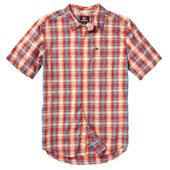 Quiksilver - Flash Surf Short-Sleeve Button-Down Shirt