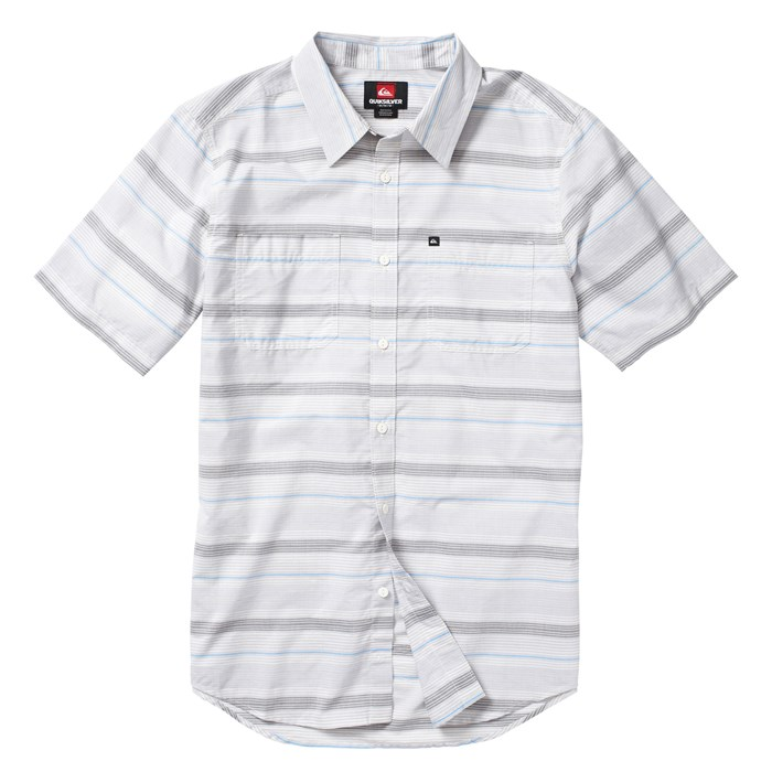 Quiksilver - Booked Tickets Short-Sleeve Button-Down Shirt