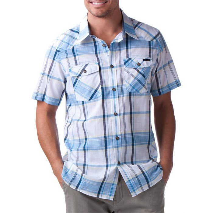 Oakley - On The Trail Short-Sleeve Button-Down Shirt