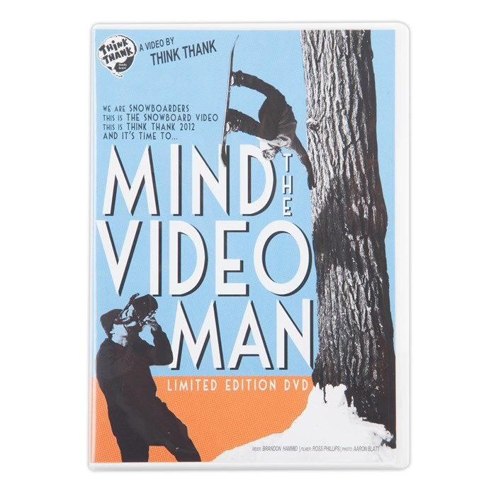 Think Thank - Mind The Video Man DVD
