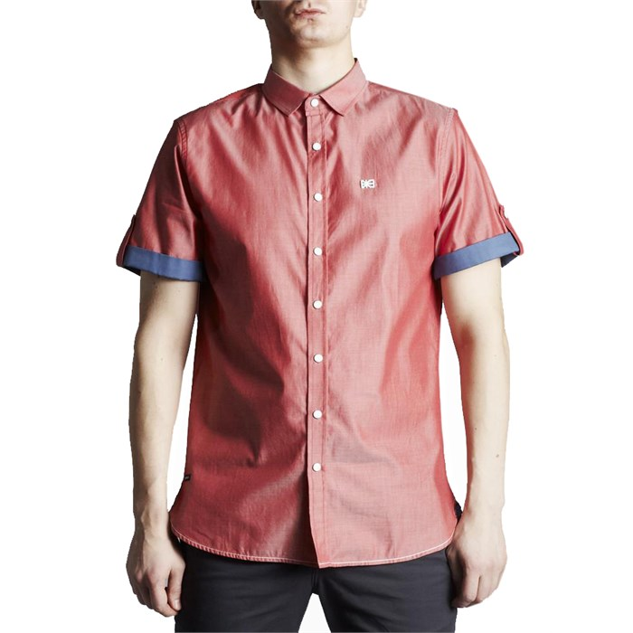 Makia - Office Short-Sleeve Button-Down Shirt
