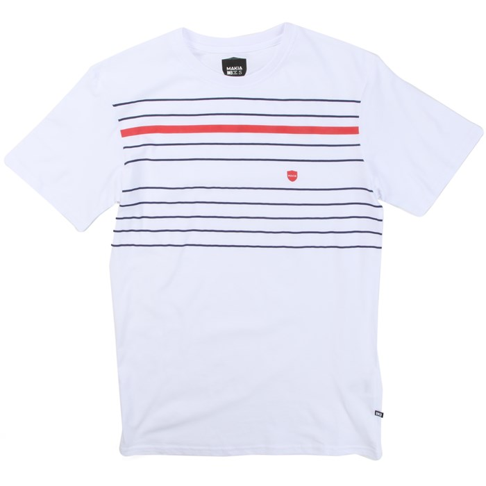 Makia - Printed Stripe T-Shirt