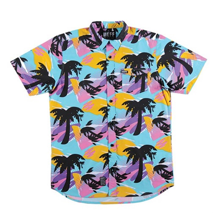 Neff - Mr. Palms Short-Sleeve Button-Down Shirt