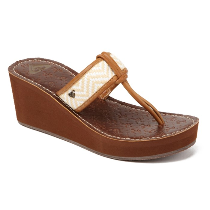 Roxy - Padma Wedge Sandals - Women's