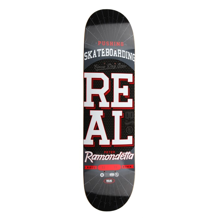 Deluxe - Pushing Skateboarding Ramondetta Skateboard Deck