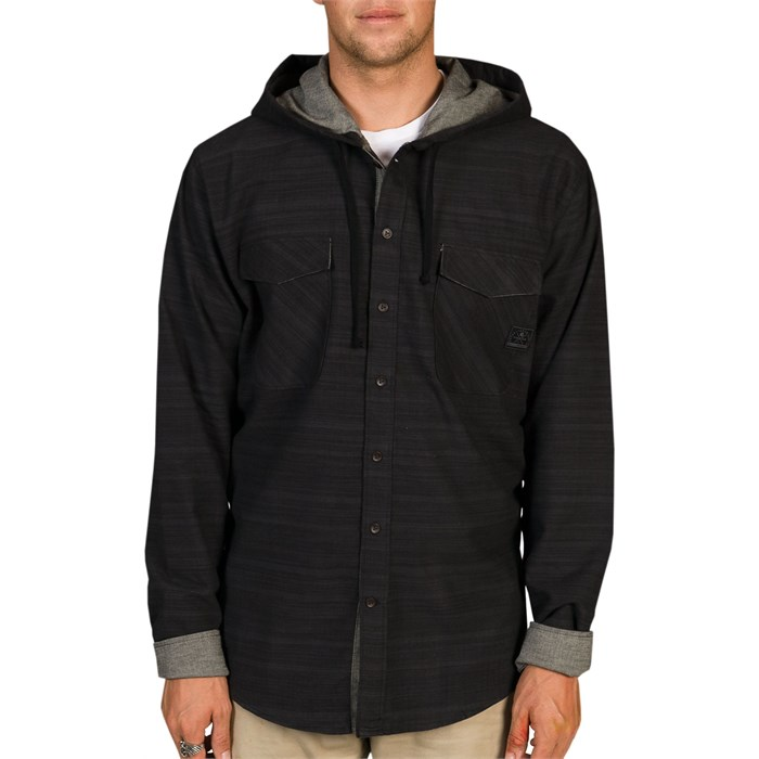 Billabong - Spade Button Down Hoodie