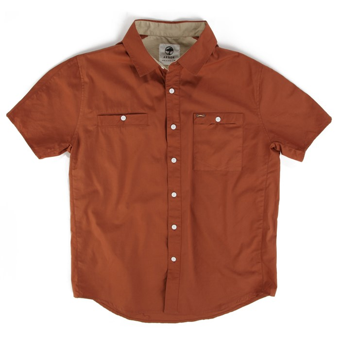 Arbor - Mulholland Short-Sleeve Button-Down Shirt