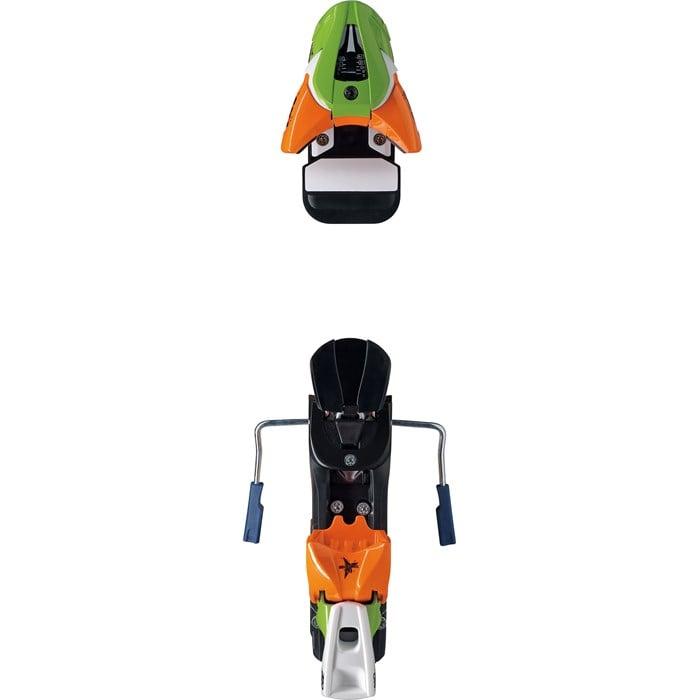 Atomic Ffg 7 Ski Bindings 80mm Brakes Kid S 2013: Atomic FFG 14 Demo Ski Bindings (115mm Brakes) 2012
