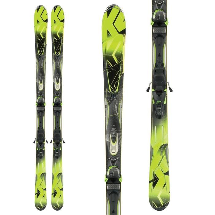 K2 - A.M.P. Charger Skis + MX 12.0 Demo Bindings 2012