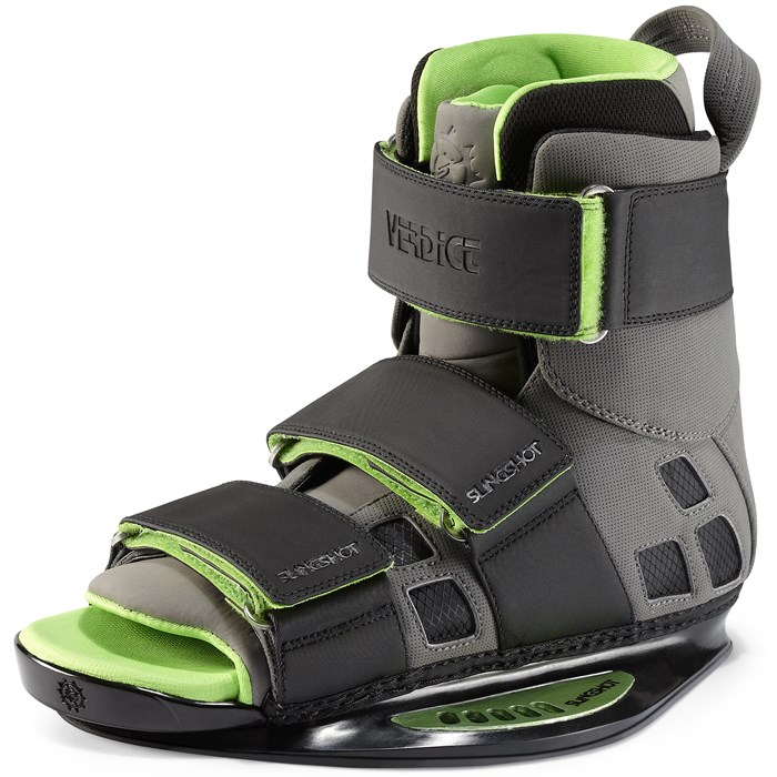Slingshot - Verdict Open Toe Wakeboard Bindings 2013