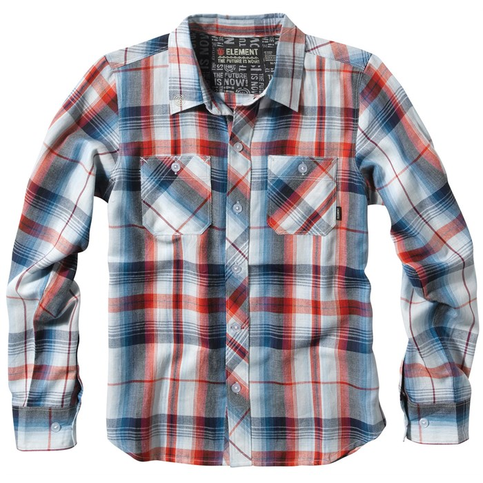Element - Royce Button-Down Shirt - Youth - Boy's