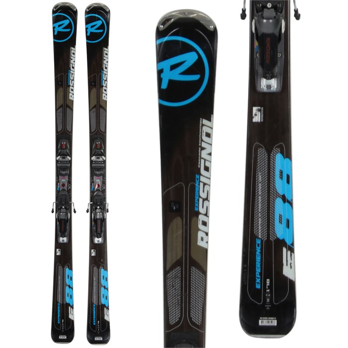 Rossignol - Experience 88 Skis + Axial 2 Speedset Bindings - Used 2013