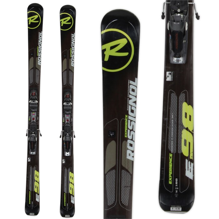 Rossignol - Experience 98 Skis + Axial 2 Speedset Bindings - Used 2013