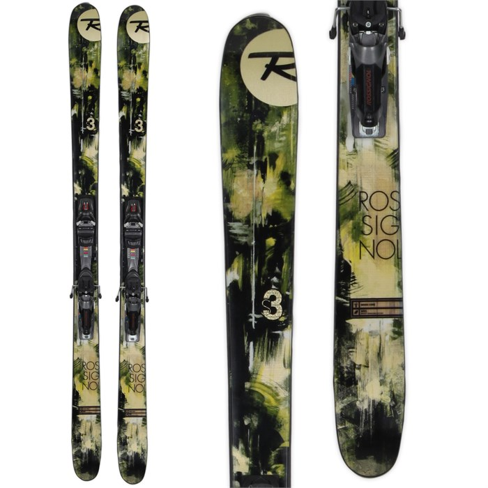 Rossignol - S3 Skis + Axial 2 Speedset Bindings - Used 2013