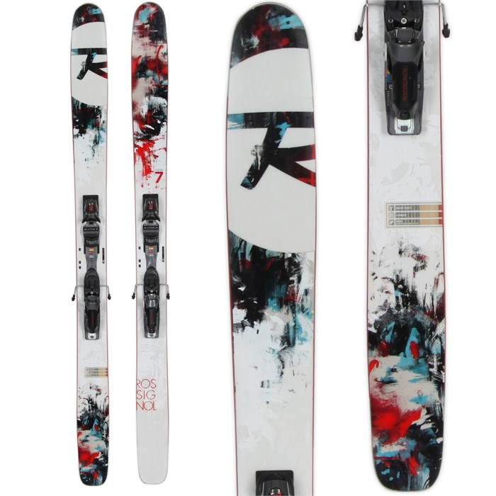 Rossignol - Squad 7 Skis + Axial 2 Speedset Bindings - Used 2013