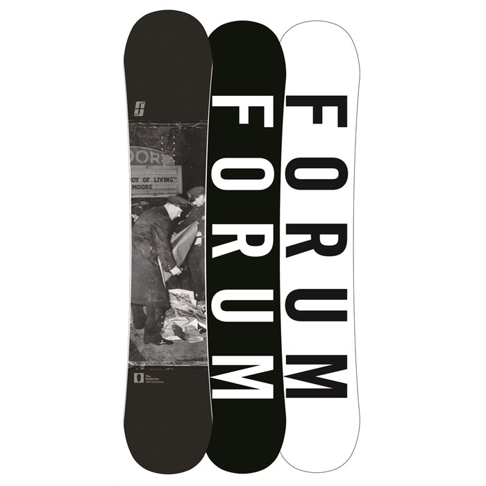 Forum - Destroyer Doubledog Wide Snowboard - Demo 2013