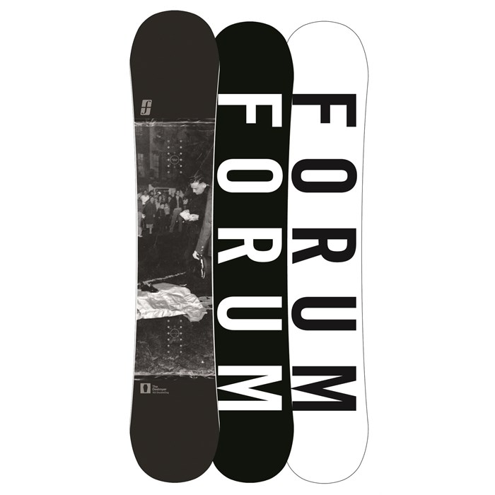 Forum - Destroyer Doubledog Snowboard - Blem 2013