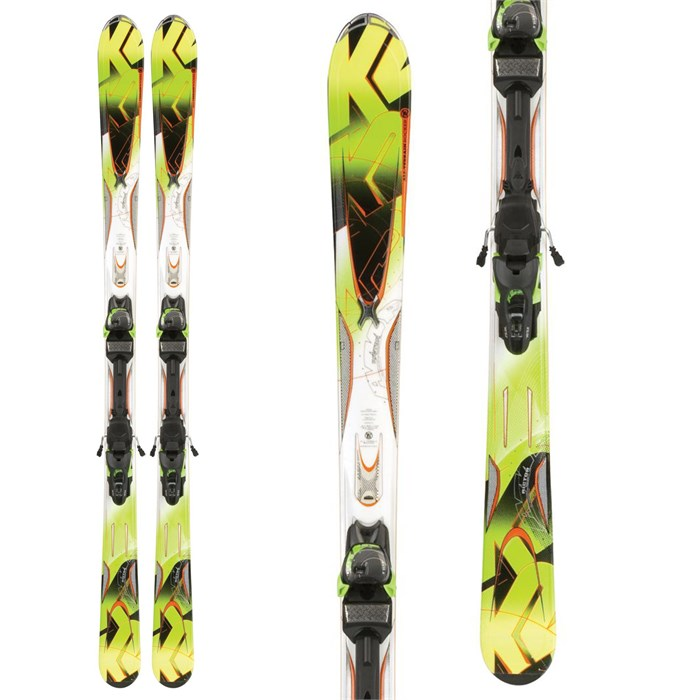 K2 - A.M.P. Rictor Skis + Marker MX 12.0 Demo Binidngs 2012