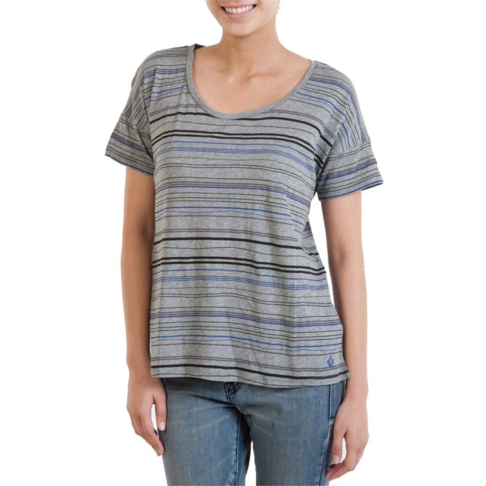 Volcom - Pop Strype T-Shirt - Women's