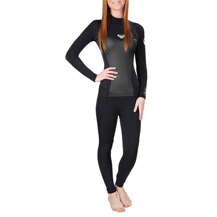 Roxy - Syncro 3/2 Back Zip Flatlock Wetsuit - Women's