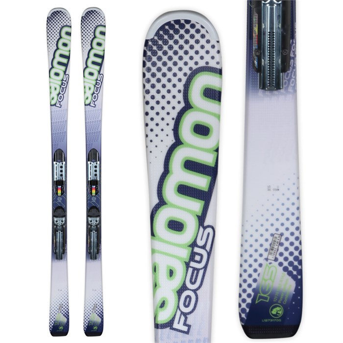 Salomon - X-Wing Focus Skis + Z10 Bindings 2012