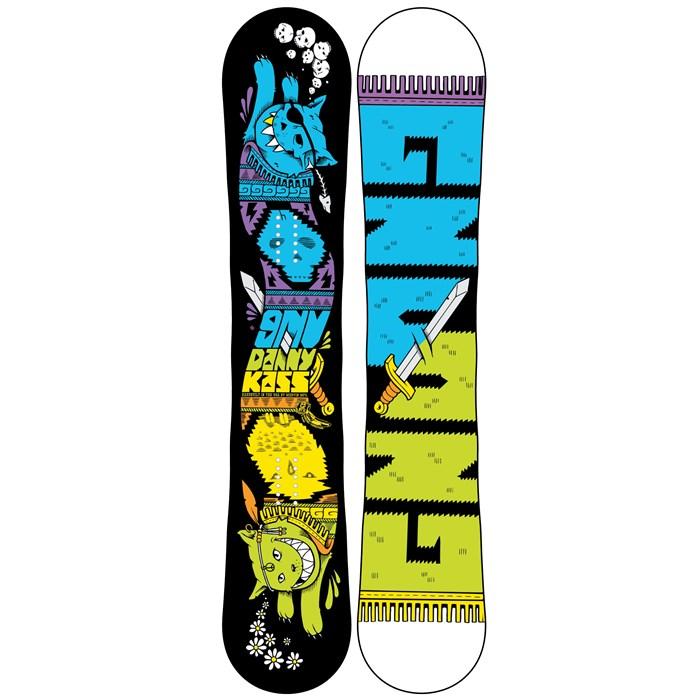 GNU - Danny Kass C2BTX Snowboard - Blem 2013