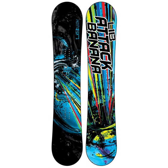 Lib Tech - Attack Banana EC2BTX Wide Snowboard - Blem 2013