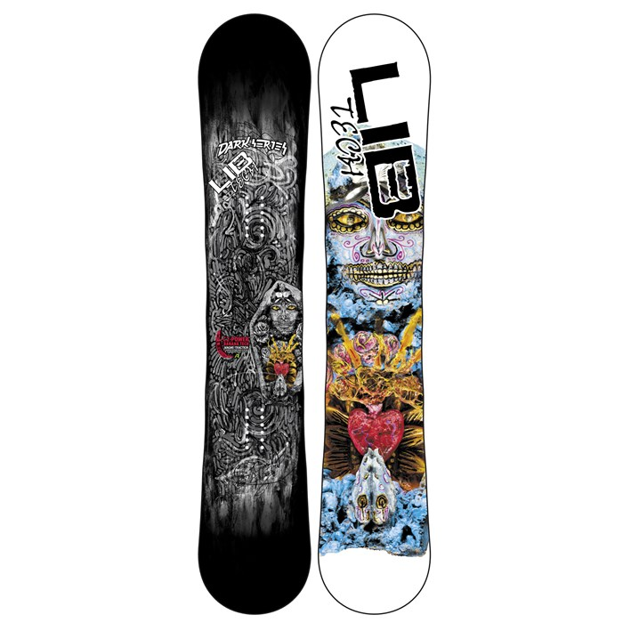 Lib Tech - Dark Series C2BTX Wide Snowboard - Blem 2013