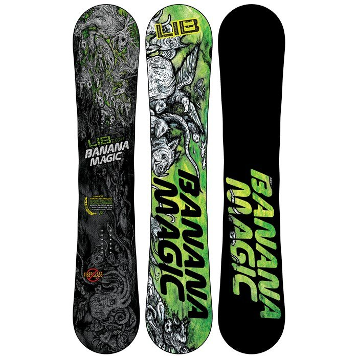 Lib Tech - Banana Magic Enhanced BTX Wide Snowboard - Blem 2013