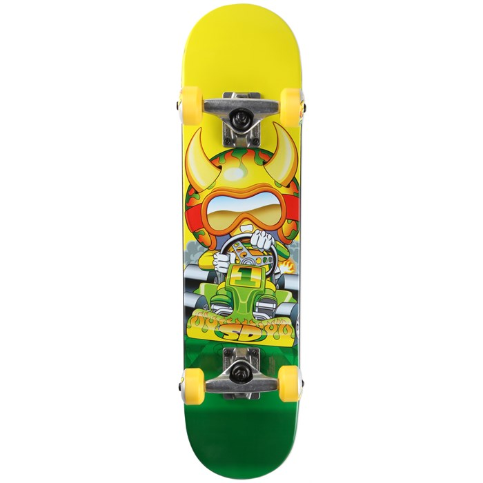 Speed Demons - Go Kart Micro Brigade Complete Skateboard - Kid's