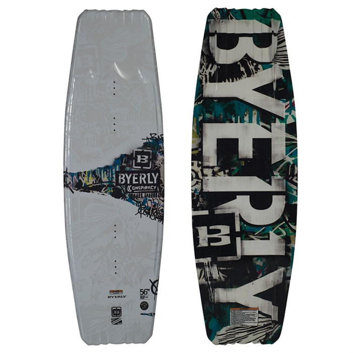 Byerly Wakeboards - Conspiracy Wakeboard 2013