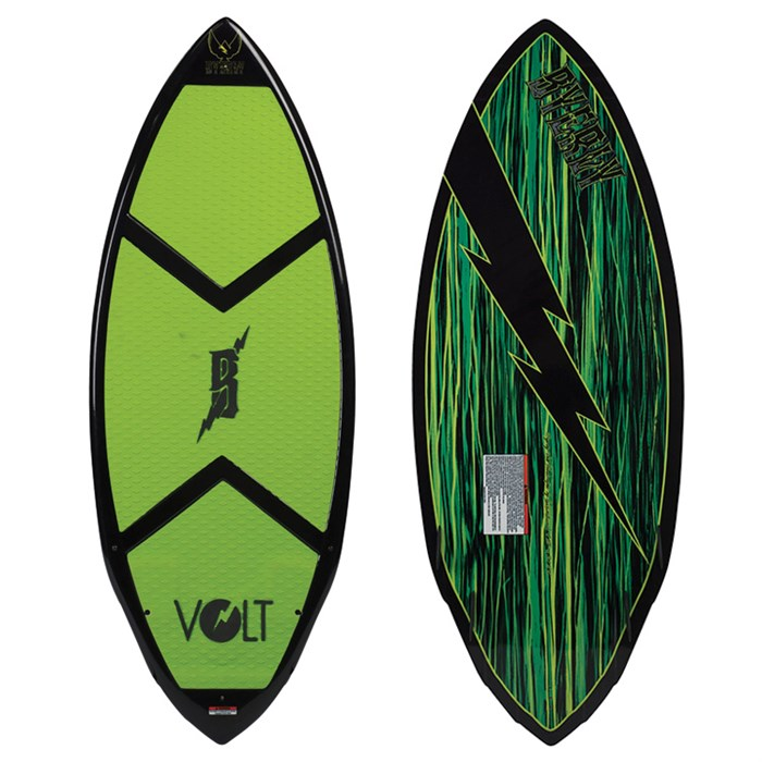 Byerly Wakeboards - Byerly Wakeboards Volt Wakesurf Board 2013
