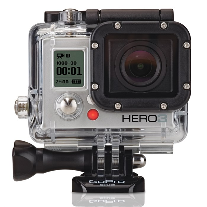 GoPro - GoPro Hero3 Silver Edition Camera