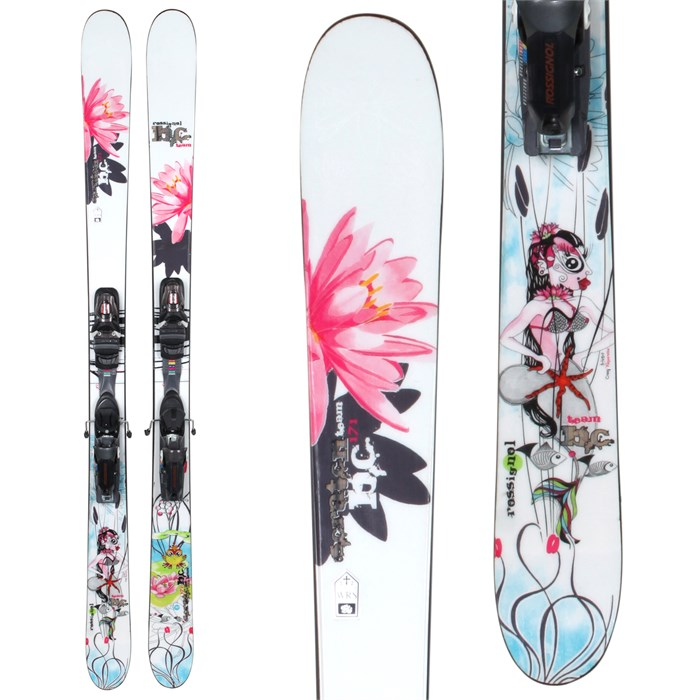 Rossignol Scratch BC Team Skis + Axial 2 Speedset Bindings