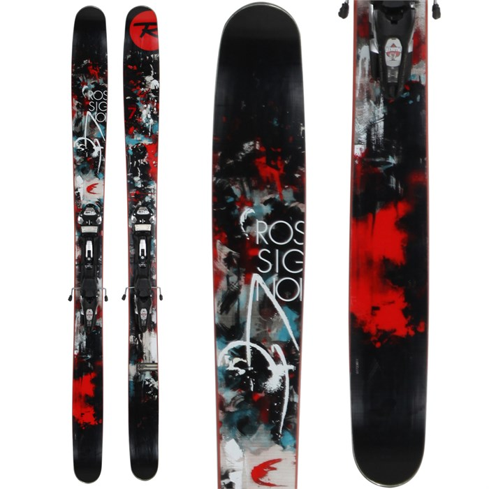 Rossignol - Super 7 Skis + Marker Baron Small Bindings - Used 2013