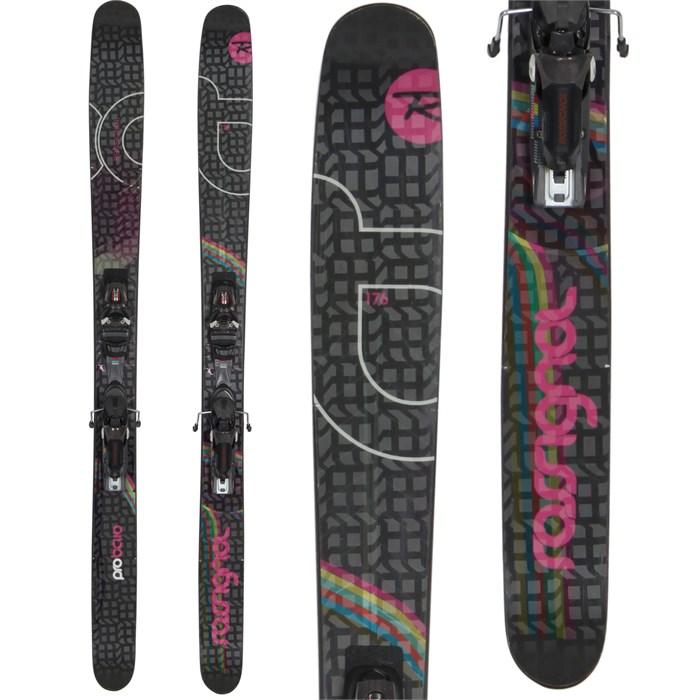 Rossignol - Voodoo Pro BC 110 Skis + Axial 2 Speedset Bindings - Used - Women's 2010
