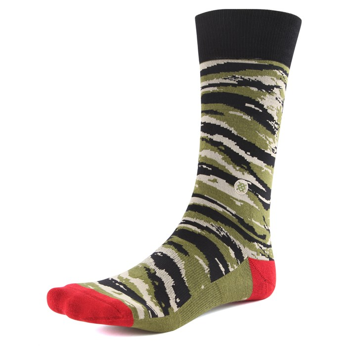 Stance - Tiger Toe Crew Socks
