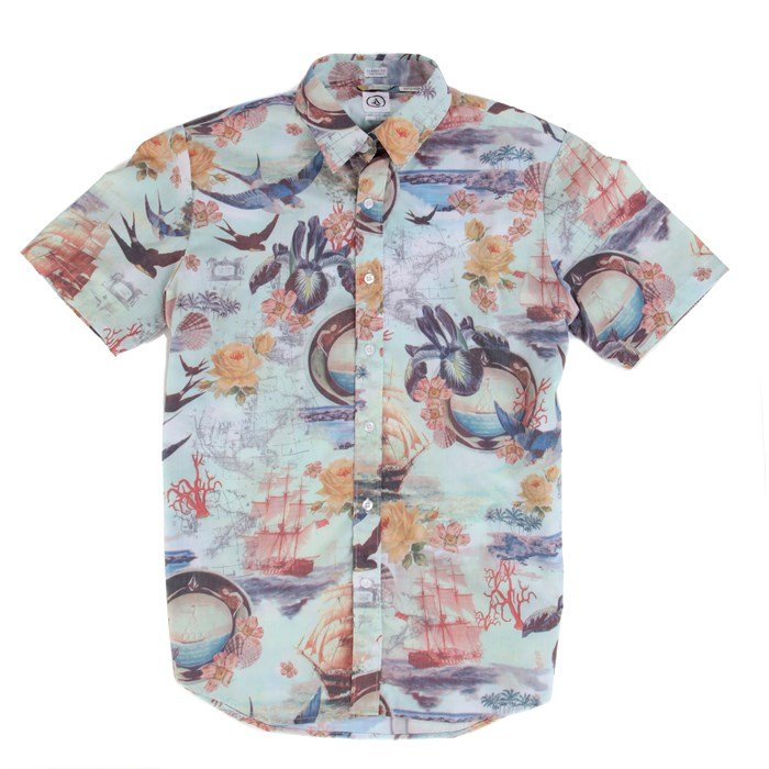 Volcom - Ol'Shipster Short-Sleeve Button-Down Shirt