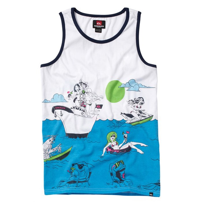 Quiksilver - Sinking Teeth Tank Top