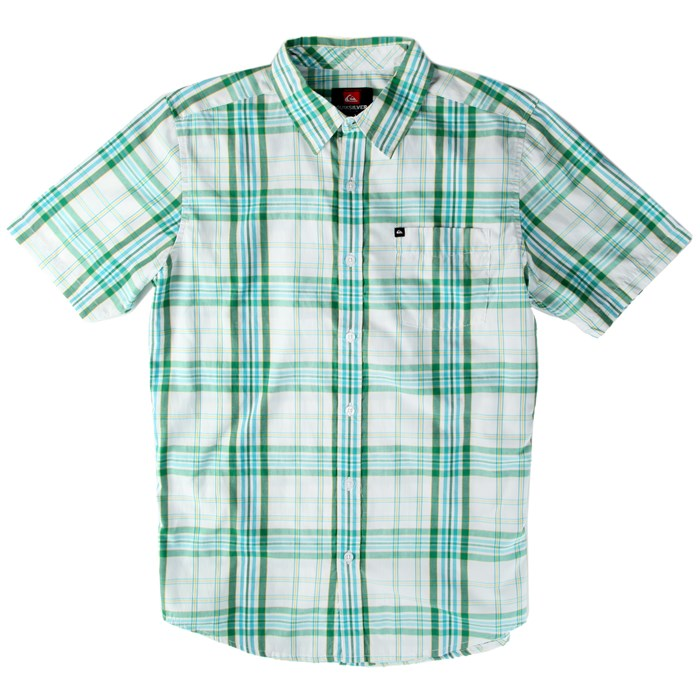 Quiksilver - Uncle Pat Short-Sleeve Button-Down Shirt