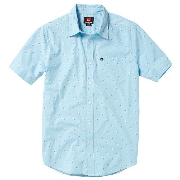 Quiksilver - Ho Chi Fin Short-Sleeve Button-Down Shirt