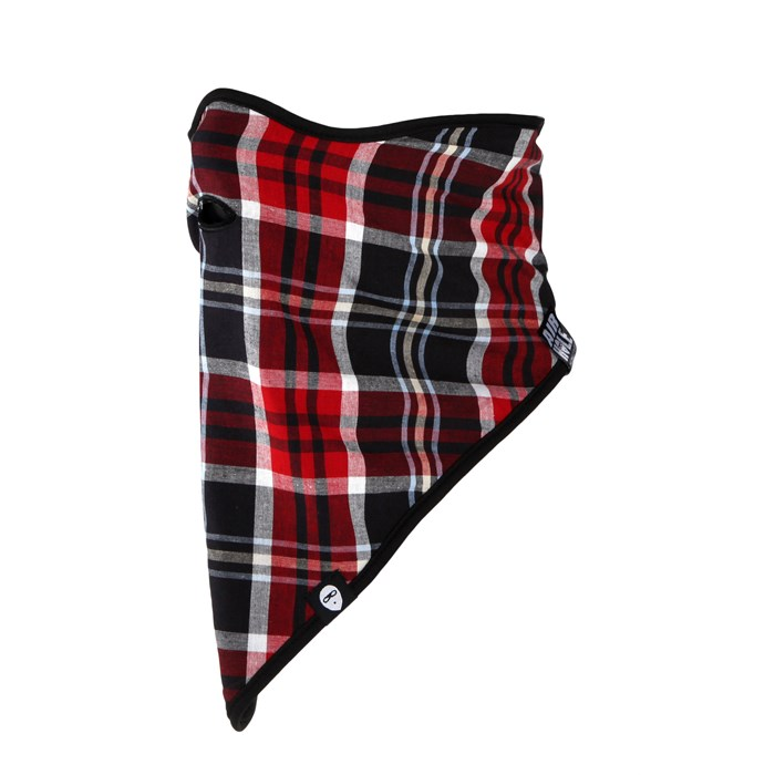 Airhole - Berry Plaid Facemask