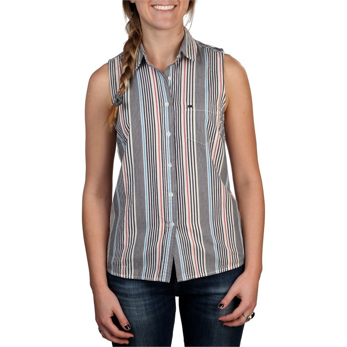 Obey Clothing - Pearce Sleeveless Button Down Shirt - Women's