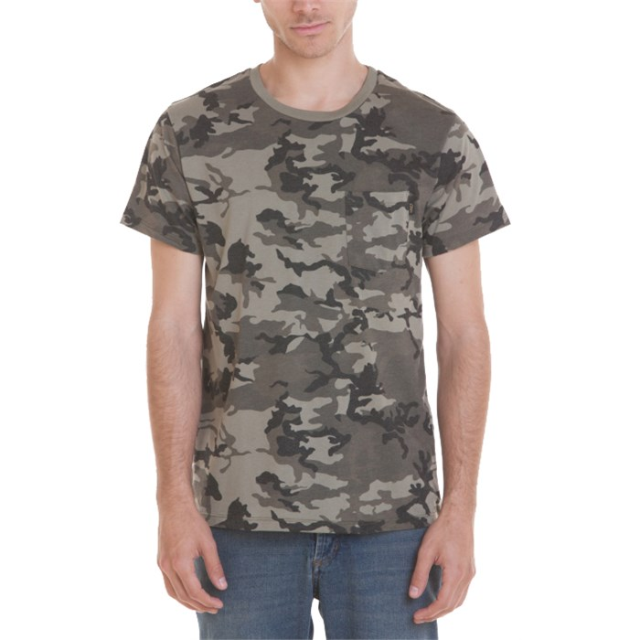 Obey Clothing - Camo Pocket T-Shirt