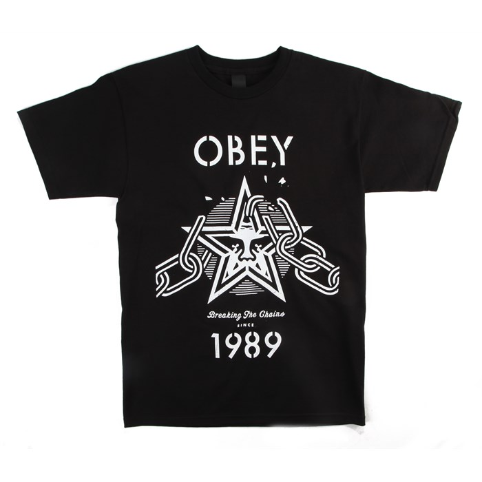 Obey Clothing - Breaking The Chains T-Shirt