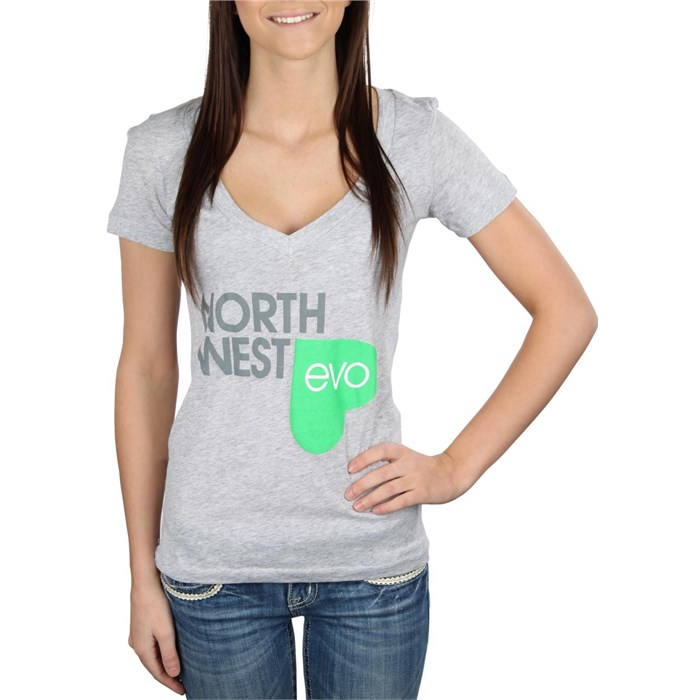 evo - NW Love V-Neck T-Shirt - Women's