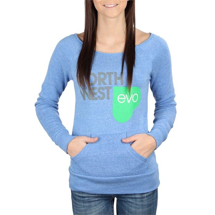 evo - NW Love Raw Edge Sweatshirt - Women's